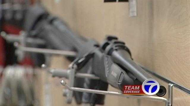 Local gun stores have been packed with buyers fearing that government will restrict gun sales. Action 7 news reporter Will Carr spoke with a popular local shooting range and gun store, to get reaction to the president's speech.
