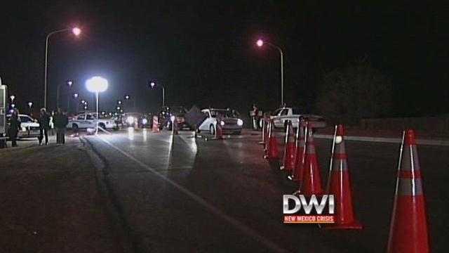 DWI memorial checkpoint