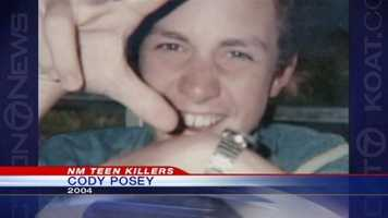 In 2004, when Cody Posey was 14, he shot and killed his 13-year-old stepsister, his stepmother and his father on Sam Donaldson's Hondo ranch.