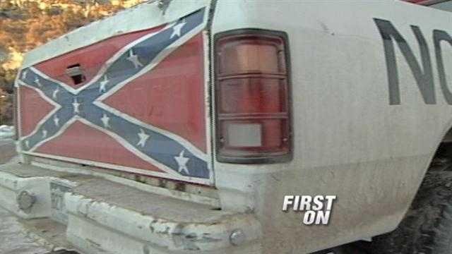 Parents, students speak after school's Confederate flag ban