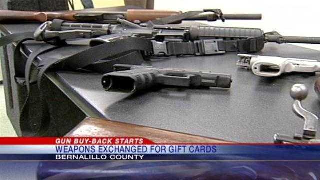 Bernalillo Co. institutes gun buyback program