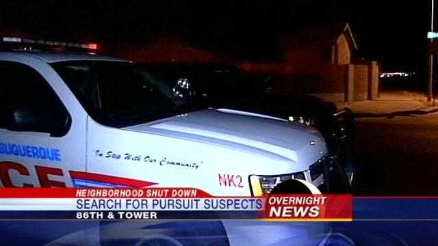 Overnight Police Search Shuts Down Neighborhood