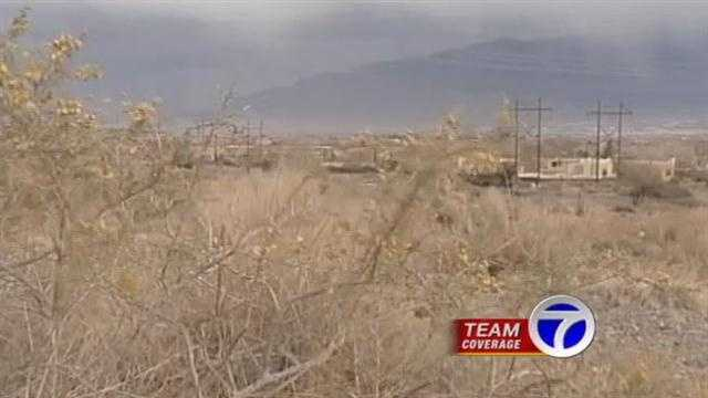 Saturday wasa day to hold on tightin Albuquerque as strong gusts blew through town.