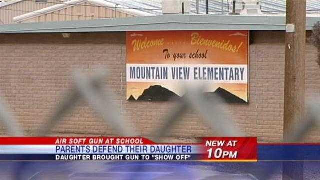 As we first told you Friday on action 7 news, a 10 year old girl admitted to bringing an airsoft gun that fires plastic pellets to school.