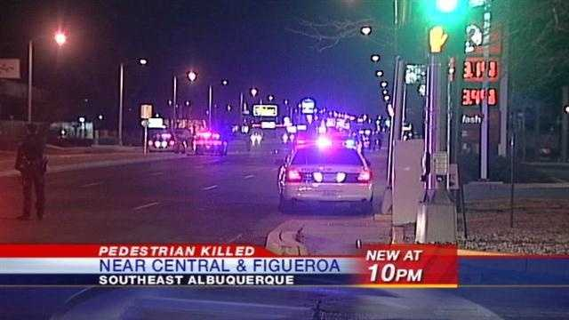 Pedestrian killed Feb. 11