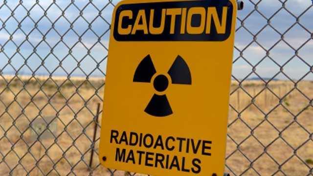 Nuclear radioactive sign