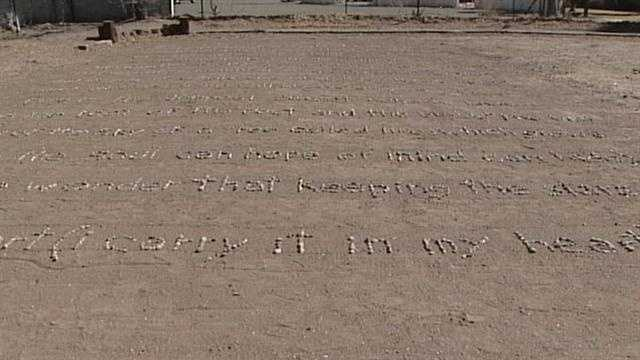 South Valley man honors wife with poem