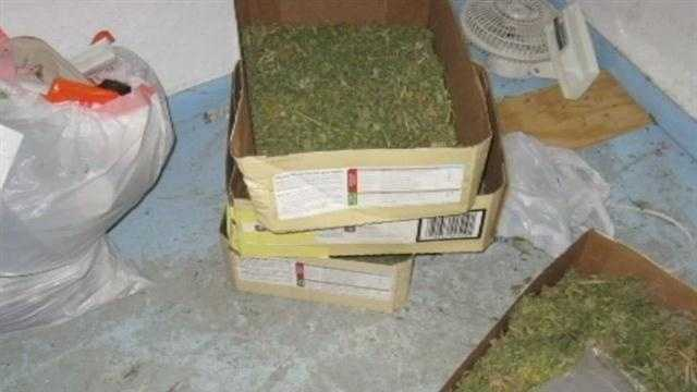 Santa Fe police make a huge pot bust. Valued at almost $200,000, the drugs were found in a very strange place.