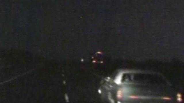 Wrong-way crash caught on video