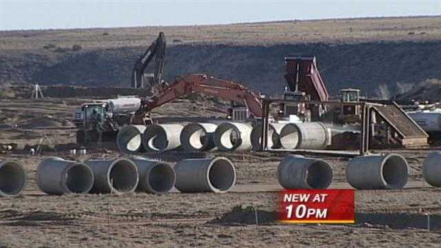 Home owners are fed up with an explosive construction project that city leaders say is on the up and up.