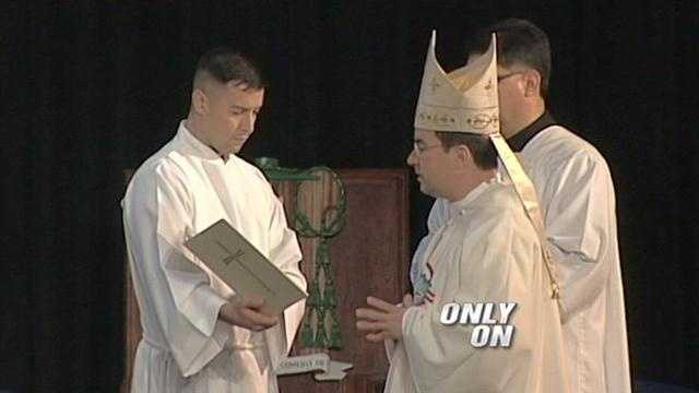 New bishop says Catholic Church must reach modern world