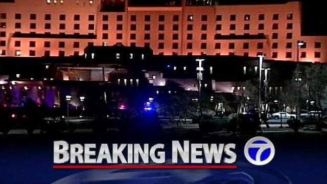Man shot at Sandia Casino