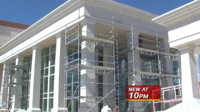 The new District Courthouse is scheduled to open next month, but right now the project continues to cost taxpayers more and more money.