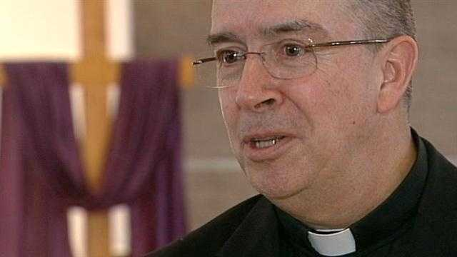 Monsignor Lambert Luna says unveiling of Pope Francis restores some stability to the Catholic Church.