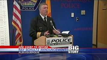 Albuquerque Police Chief Ray Schultz announced his retirement from the force after 8 years in command. See what prominent figures are saying about the announcement.