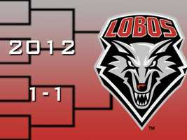 In 2012, the New Mexico Lobos surged into the NCAA tournament on the heels of a Mountain West tournament title. The Lobos opened the tourney with a five-point win over Long Beach State. In the Round of 32, Louisville beat UNM by 3 points.