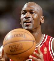 8. If he could interview anyone past or present it would be Michael Jordan.