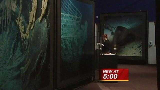 Museum of Natural History and Science hosts Titanic exhibit