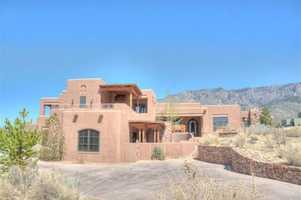 Take a look inside this 5 bedroom, 8 bath mansion in Albuquerque, N.M. featured on realtor.com