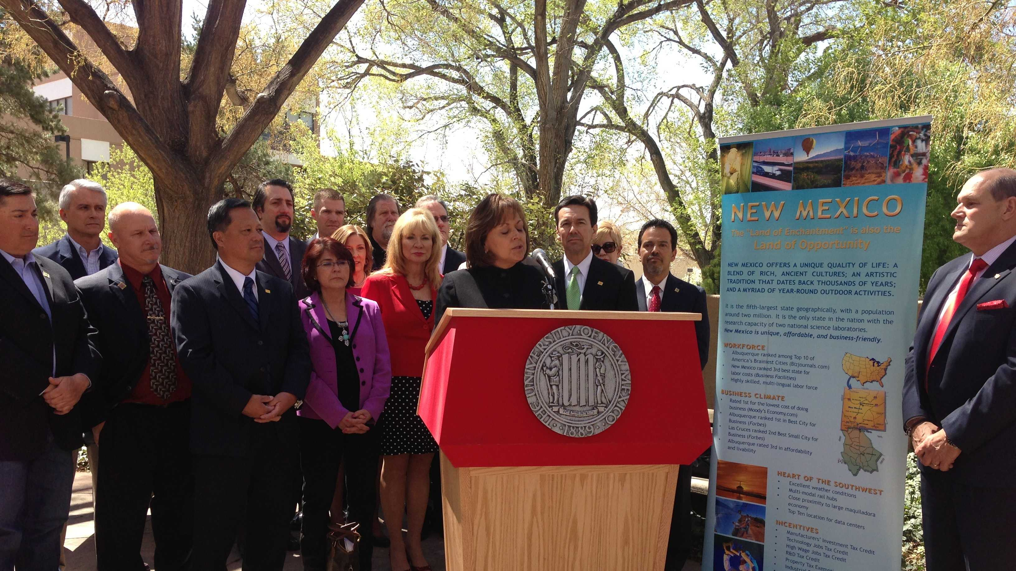 Susana Martinez signs bills