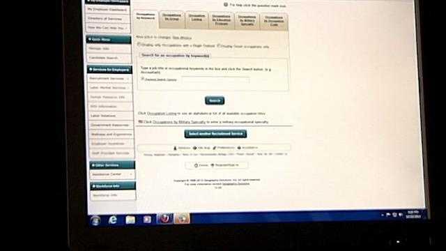 Unemployment benefits website faces another problem