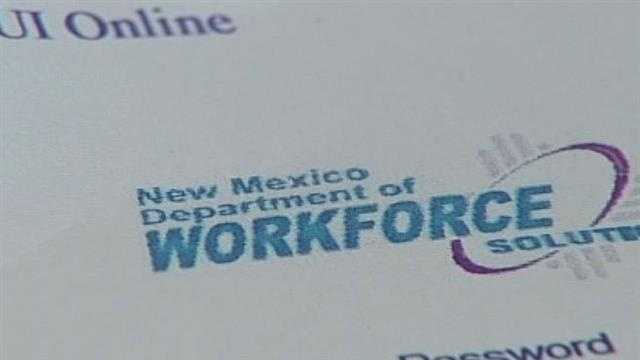 An Albuquerque couple says the agency is holding back their unemployment checks&#x3B; but the agency says the couple needs to pay them.
