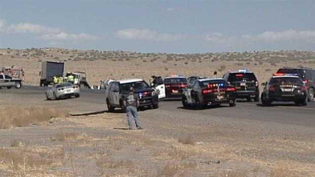 I-40 Big Crash