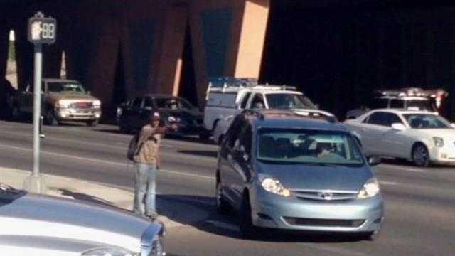 Panhandler calls himself traffic cop