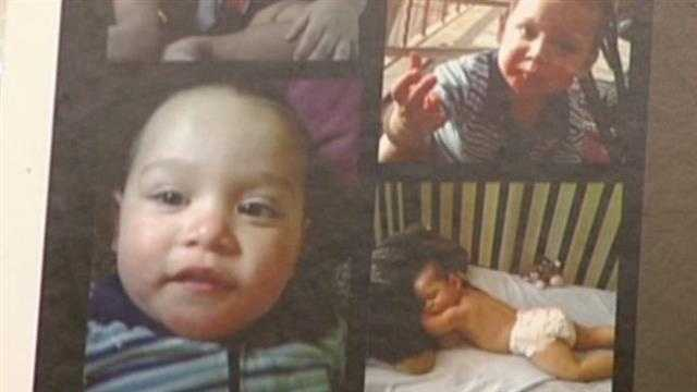 A suspected drunk driver killed their 22-month old son last summer.