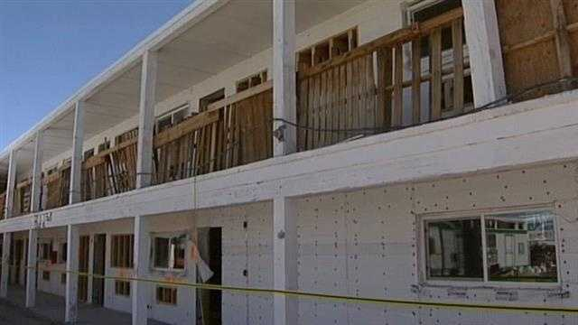 New life for a closed, historic motel, along route 66.
