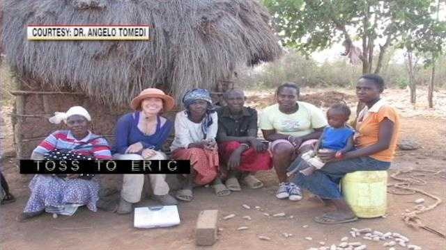 UNM Students Home from Humanitarian Trip to Africa