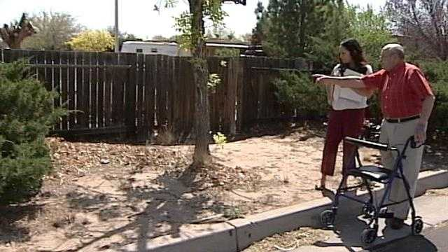 An elderly Albuquerque man reaches out to Action 7 News for help.