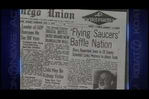 Flying Saucers in Aztec