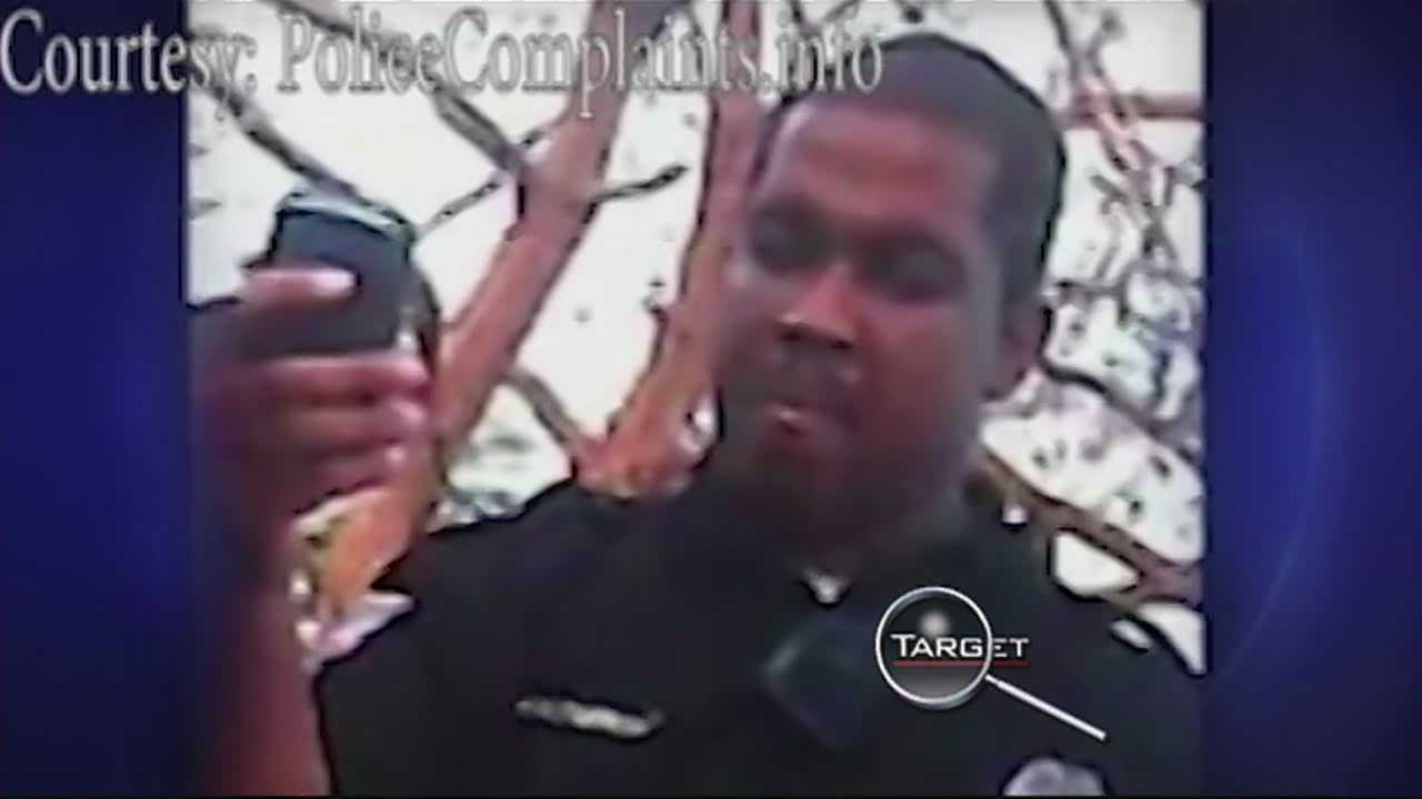 Security officer fired after video surfaces