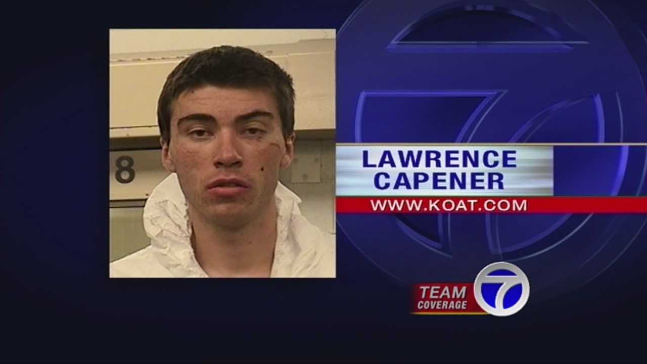 Hours before the church stabbings, Capener admitted to APD that he vandalized a masonic lodge in Rio Rancho.