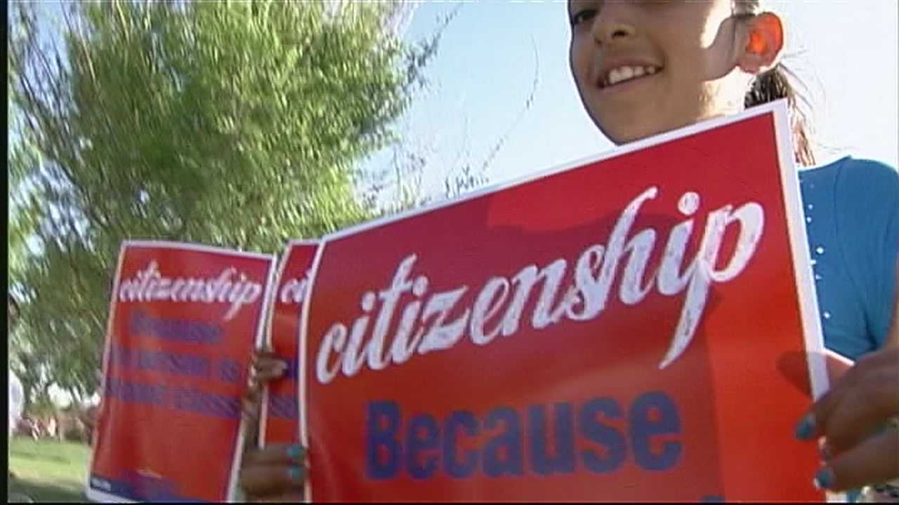Nearly 11 million people live in the United States, illegally. Hundreds came out in full force, in Albuquerque, to fight for immigration reform.