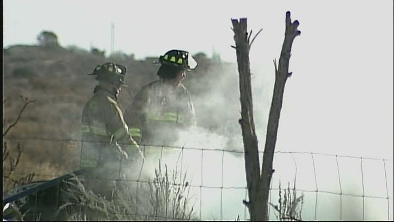 Several homes burned Friday morning in Rio Rancho near Third Avenue and 14th Street.