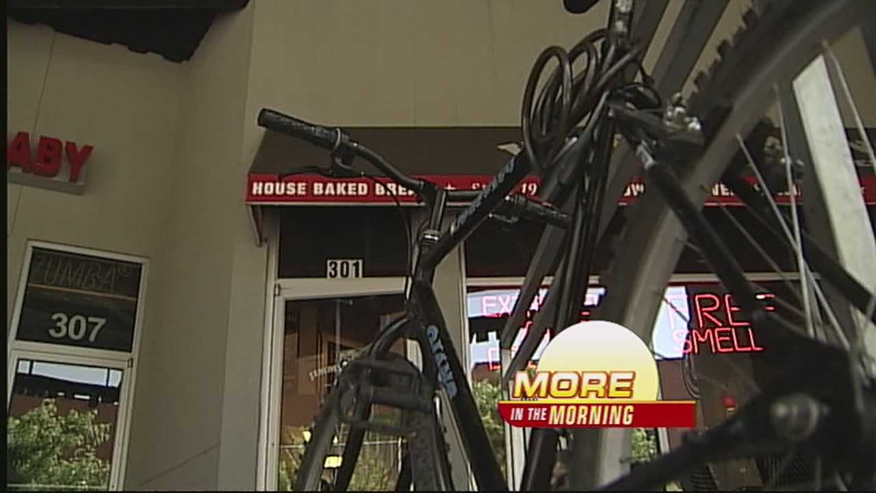 Thieves have hit multiple shops downtown multiple times in just the last three weeks.