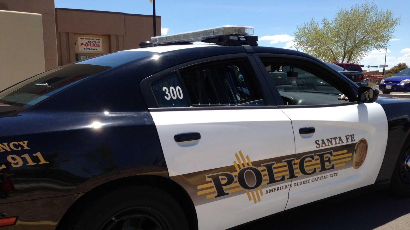 Santa Fe Police Car Stock Generic