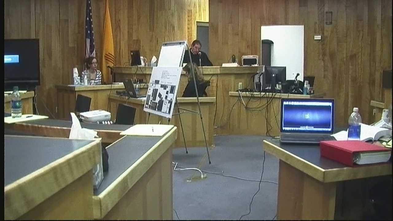 Only action 7 news was in the courtroom as a teenager recalled the horrific day when she saw her mother and boyfriend get shot to death.