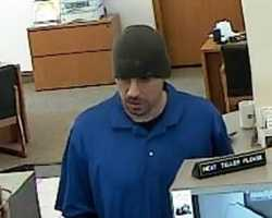 This unknown suspect robbed a bank in Westminster, Colorado on April 6, 2013. He entered the bank, approached the victim teller and presented a demand note. The suspect received money then fled from the bank.