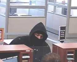 """The """"Bully Bandit"""" is believed to be responsible for a total of ten (10) Bank Robberies and one robbery of a customer within a financial institution between the dates of 28 November 2012 and 29 March 2013. The robber is routinely covered up with a hat and/or a hoodie when inside the financial institution. He also regularly threatens the use of physical force."""