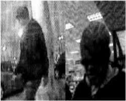 This unknown robber hit a Sioux Falls bank in South Dakota on Oct. 22, 2012. He wore a stocking cap, a hooded sweat shirt and jeans.