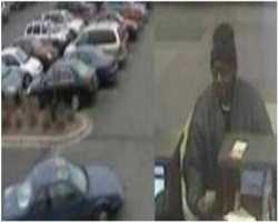 On Nov.30, 2012 a bank was robbed in Richfield, Minnesota. The suspect is wanted in connection with the bank robbery of the TCF Bank located at 6501 Richfield Parkway in Richfield, Minnesota. The suspect verbally threatened the teller but did not display a weapon. The suspect left on foot and walked across the Target parking lot to a waiting vehicle driven by another suspect.