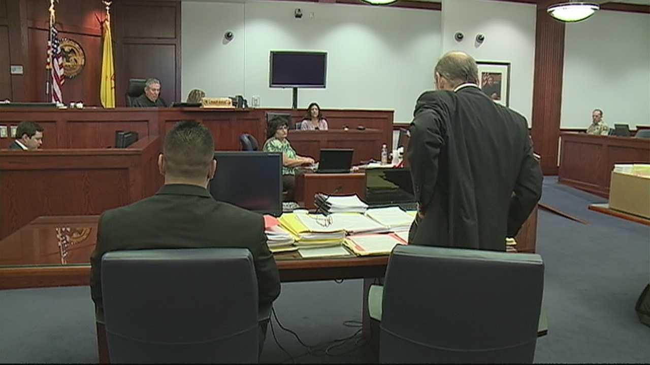 NM officer's murder trial begins