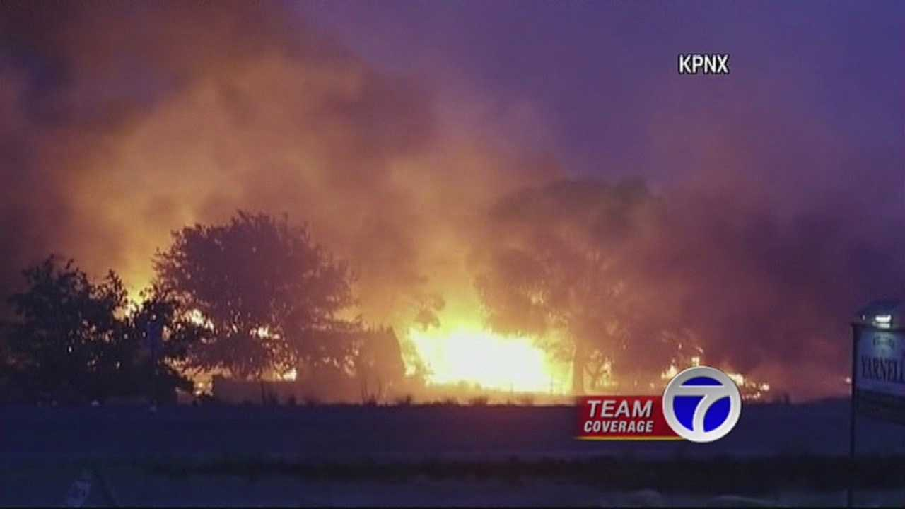 And just like the elite team did for New Mexico. New Mexico is doing for Arizona. A local fire crew is in Yarnell right now helping battle the almost 10-thousand acre fire.