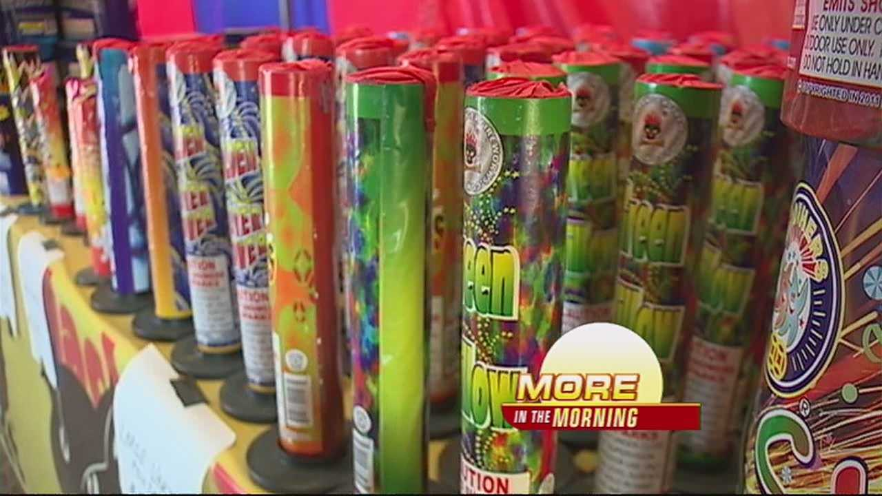 With July 4th just two days away, Bernalillo County Fire is being extremely diligent in monitoring firework tents.