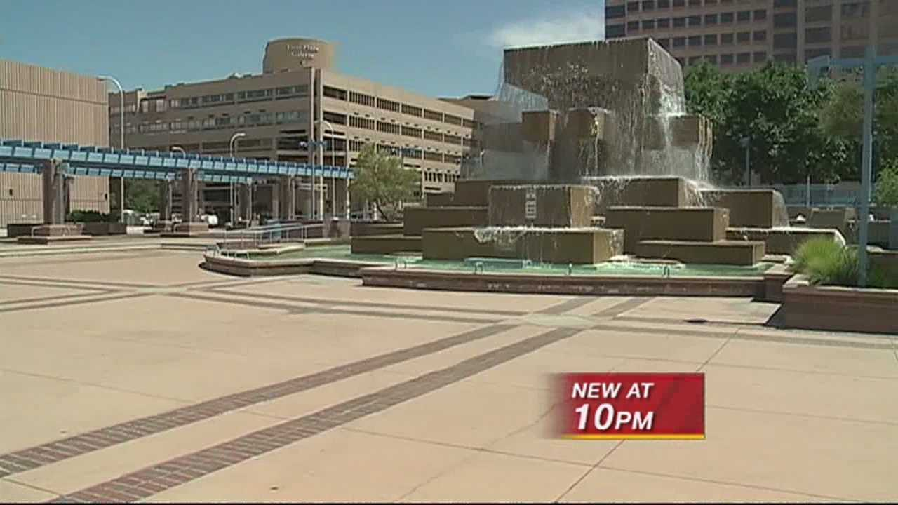 Civic Plaza Water Leak Repaired