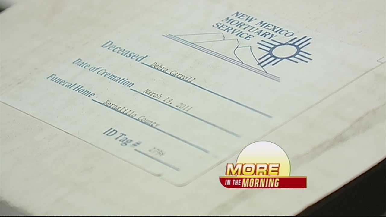 It's something a lot of people don't think about what happens when a person dies and there's no family available to claim the remains?  We're showing you how Bernalillo county deals with situations like these