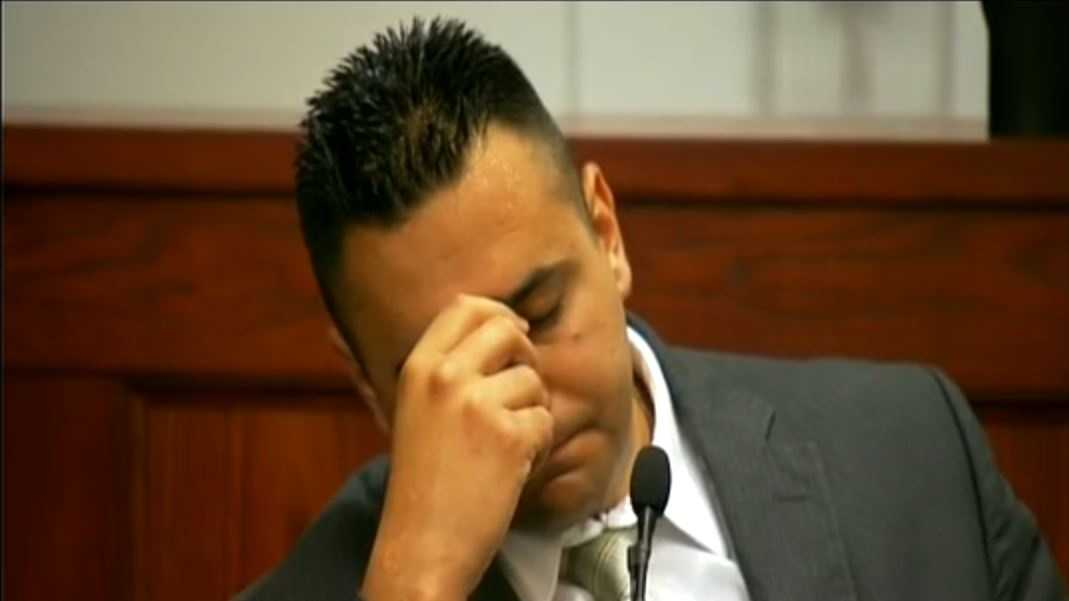 Levi Wiping away tears